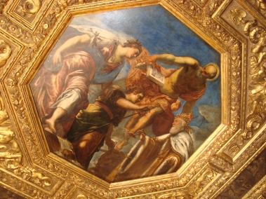 Painting on ceiling 2