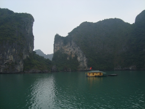 Halong Bay early morning