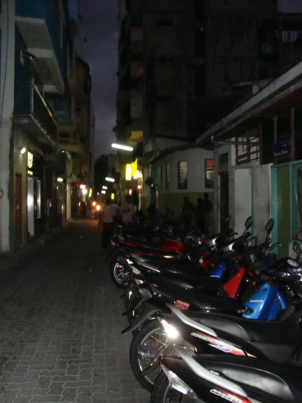 Motorbikes on every street.JPG