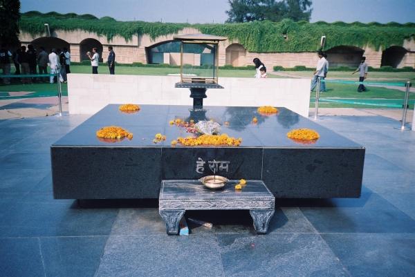 Gandhi's Samadhi.JPG