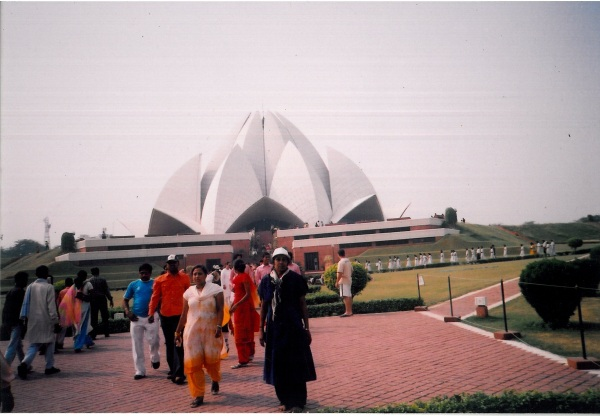 Lotus temple with Amma.jpg