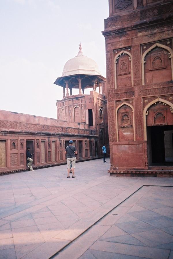 Jehangir's part in Agra fort.JPG