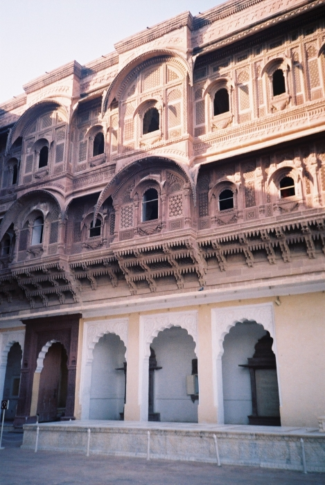 Mehaangarh fort Women's section.JPG